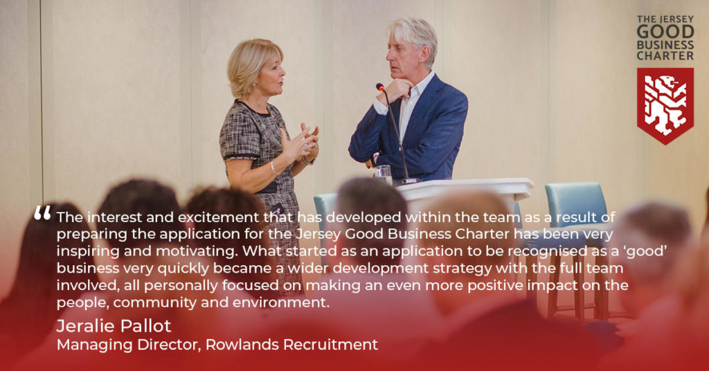 Charter Awardee - Rowlands Recruitment.