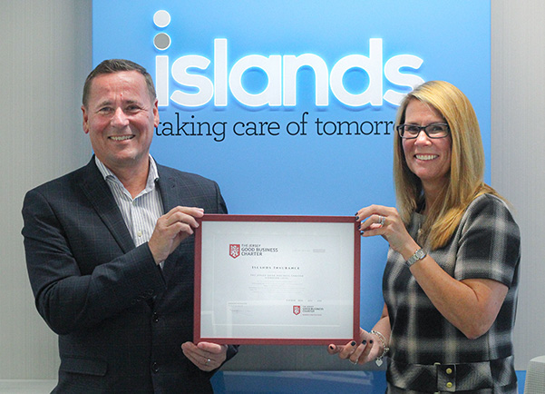Charter Awardee- Islands Insurance